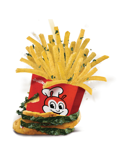 Seaweed shake fries
